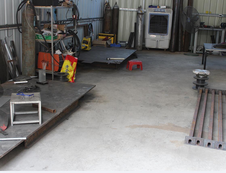 电焊车间一角
